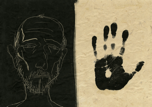 , 'My Father II,' 2017, Pratt Contemporary