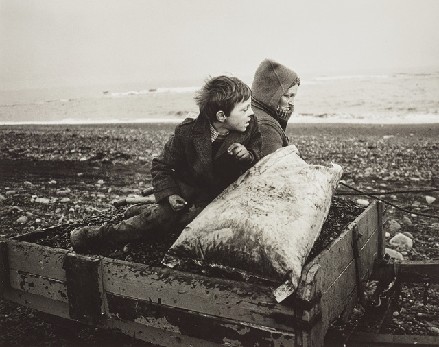Chris Killip, 'Rocker and Rosie Going Home, Seacoal Beach, Lynemouth, Northumberland', 1984, Phillips
