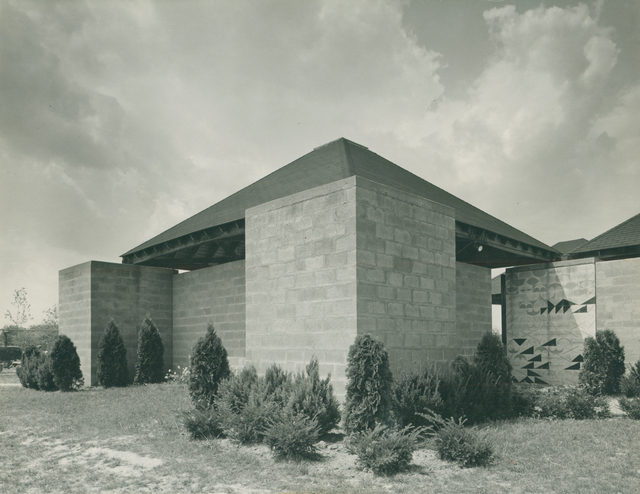 , 'Jewish Community Center,' 1954-1959, Bellevue Arts Museum