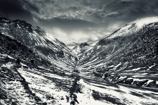 , 'Andorra Valley,' 2012, Fifty Dots