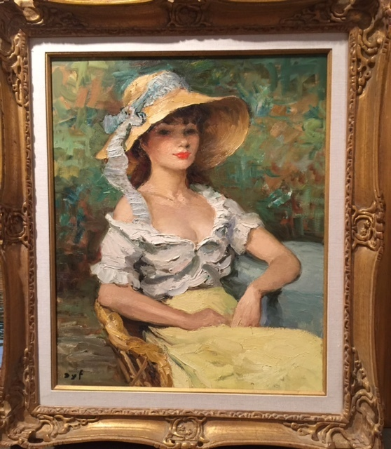 , 'Claudine,' , Cosmopolitan Fine Arts