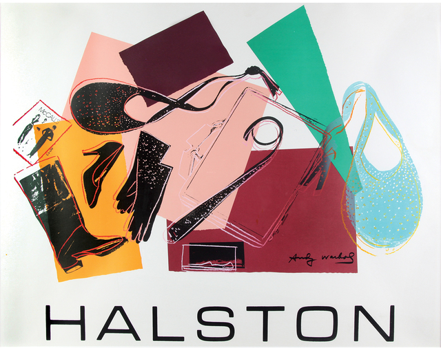 Andy Warhol, 'Halston Advertising Campaign - Women's Accessories', 1982, Print, Colored silk-screen print on paper, Bertolami Fine Arts