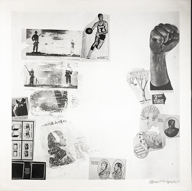 Robert Rauschenberg, 'Features, from Currents', 1970, Rago