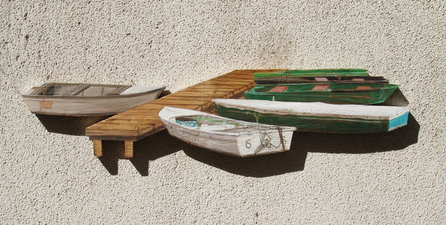 , '6 boats,' 2014, Faur Zsofi Gallery