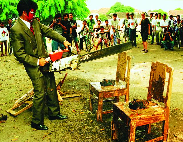 , 'Victim—Destruction I,' 1997, Asia Society
