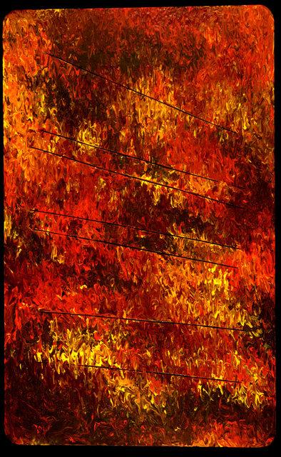 , 'De la Nada a la Nada painting about nothing #48,' 2008, Hutchinson Modern