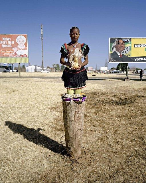 ", 'Hope, from the series ""Zulu Kids"" ,' 2014, Art Twenty One"