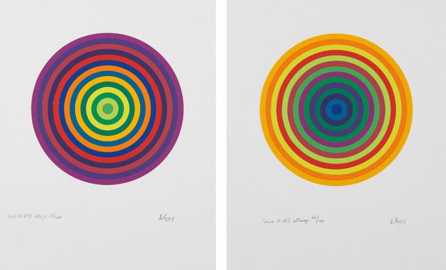 Julio Le Parc, 'Serie 15 No. 3; and No. 7', 1972, Phillips