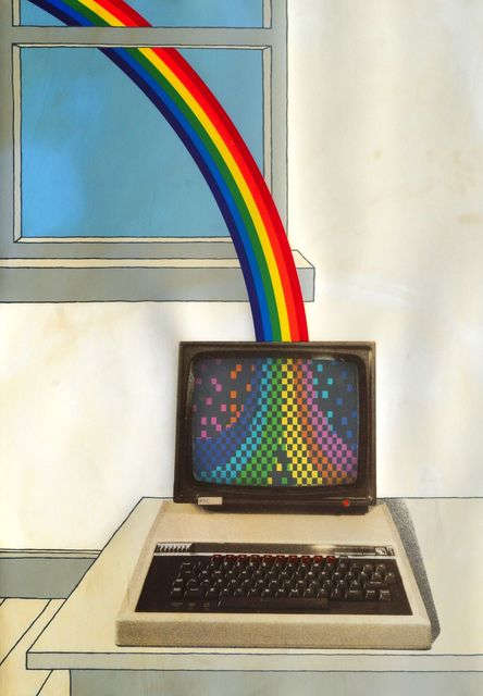 Patrick Hughes, 'Colour Process', 1984, Print, Screenprint in colours, Roseberys