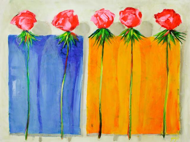 , 'Rose Zest,' 2013, Blue Gallery