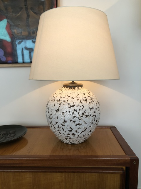 Jean Besnard, 'Big ceramic ball lamp', ca. 1930, Galerie Laurent Dubois