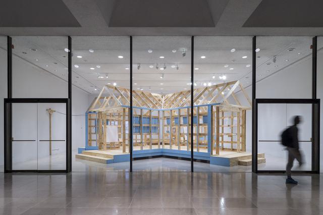 , 'SHOTGUN,' 2015, Rice University Art Gallery