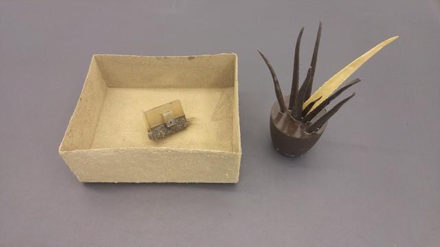 , 'Box of Castille, locker of Monastery of El Escorial and aloe of concrete and Alhambra,' 2017, García Galeria