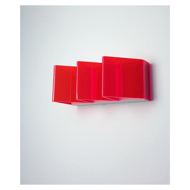 Jon Thomas, 'Primary Red', 2019, Sculpture, Fluorescent acrylic, plaster, &Gallery
