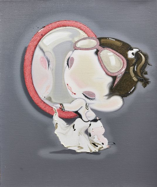 Han Yajuan 韩娅娟, 'Girl and her reflection in the mirror', 2007, Roseberys