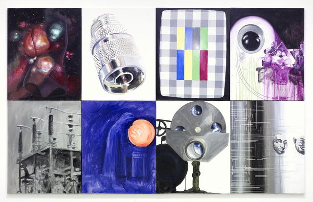 , 'Mimetic contemplation,' 2000, Galerie Mitterrand