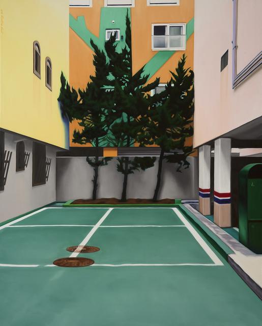 , '32 (Three Trees),' 2017, Gallery BK