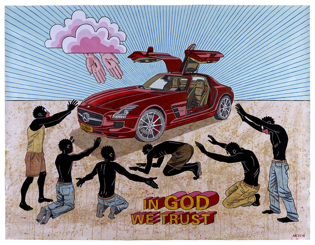 , 'In God We Trust,' 2018, HUBERTY & BREYNE GALLERY