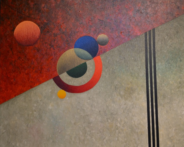 , 'Red Ring in Cosmos,' 1999, Paul Fisher Gallery