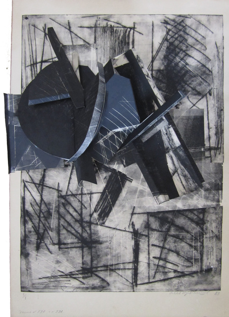 , 'Construction, Plate 590,591,' 1983, Robert Brown Gallery