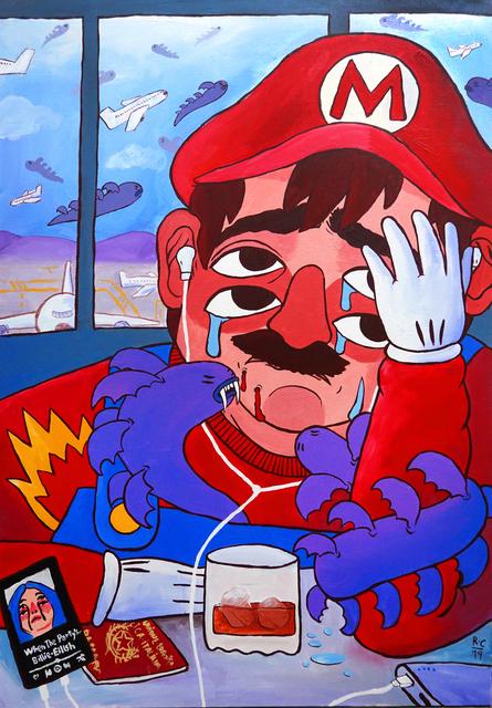 Ricardo Cavolo, 'Mario', 2019, StolenSpace Gallery