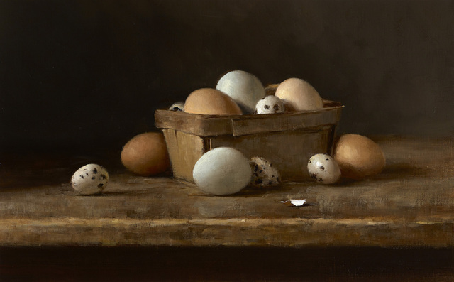 , 'Quail and Chicken Eggs,' 2016, Grenning Gallery
