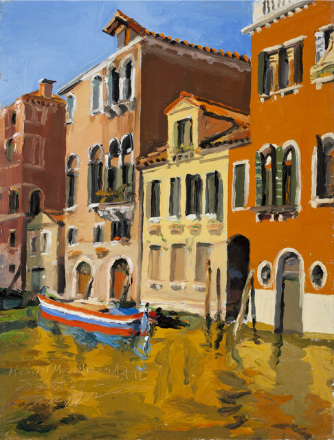 , 'Rio dei Mendicanti II Venezia 20 Sept 2012,' 2012, Gallery NAGA