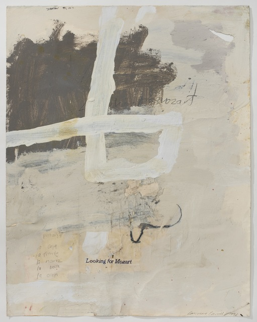 , 'Untitled drawing (Looking for Mozart),' 1991, Buchmann Galerie Lugano