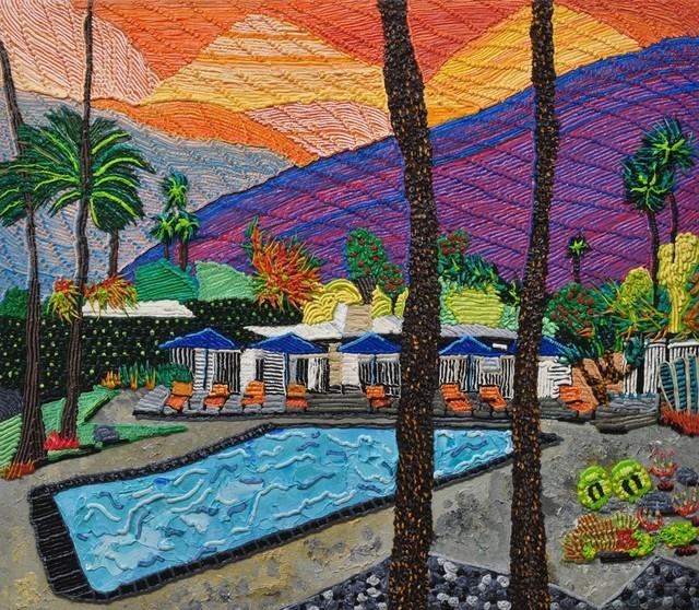 , 'L'horizon Palm Springs,' 2017, Hollis Taggart