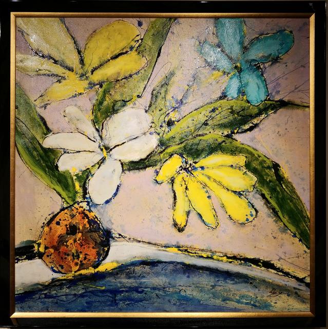 Helen Zarin, 'Fleurs - Multicolored', 2018, Masters Gallery