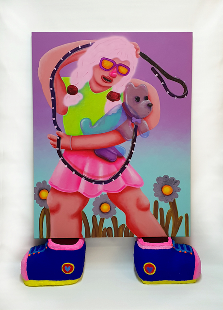 , 'Pinky and the Brain,' 2018, Mindy Solomon Gallery