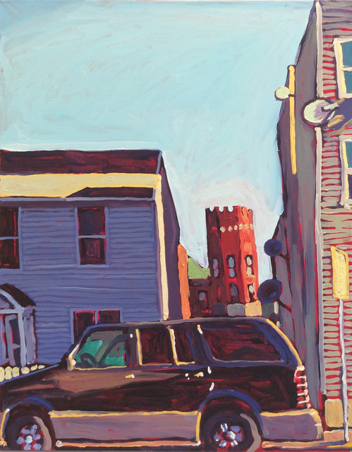 , 'Hudson Library Between the Homes,' 2016, Carrie Haddad Gallery