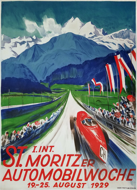 , 'St Moritz - Automobilwoche,' 1929, Omnibus Gallery