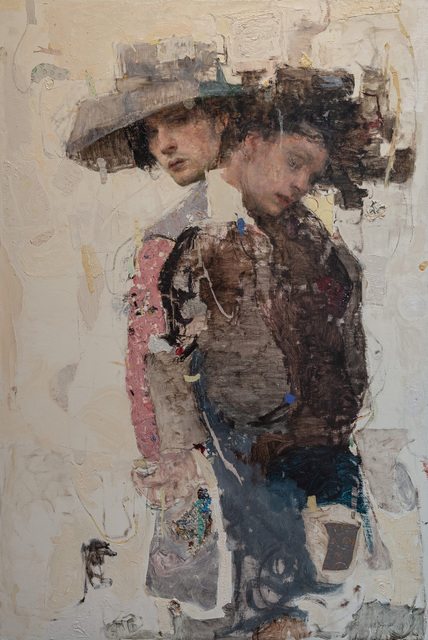 Ron Hicks, 'Paradoxical Propensities ', 2019, Painting, Oil on Panel, Gallery 1261