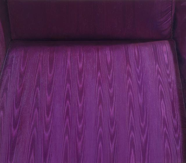 , 'Moire Chair,' 1991, Hollis Taggart Galleries