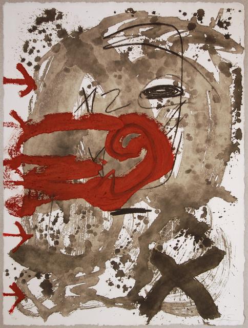 Antoni Tàpies, 'Carmi 5 - TAPIES SUCCESSION', 1994, Bogena Galerie