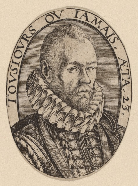 Hendrik Goltzius, 'Arnoud van Beresteyn', ca. 1579, National Gallery of Art, Washington, D.C.