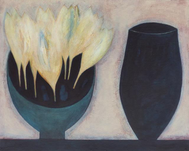 , 'Crocus Bowl with Dark Jar,' 2018, Thackeray Gallery