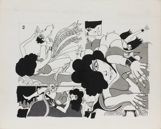 , 'Wonder Woman_04,' 1967, Nanzuka