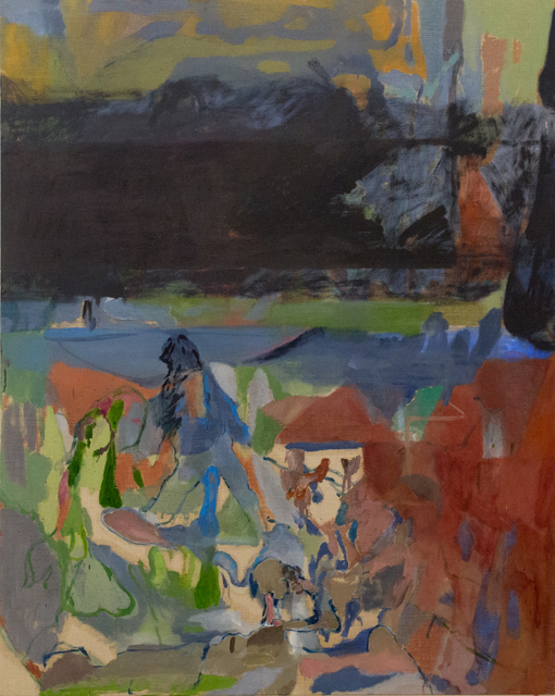 , 'Orgy at Claris Pub,' 2018, Nicholas Thompson Gallery