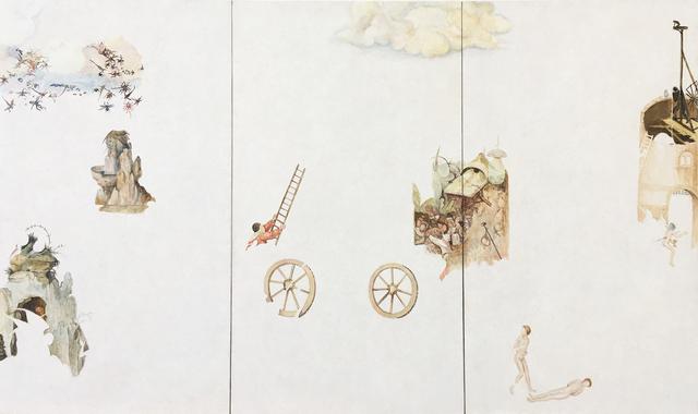 , 'Fragmento XX a partir del trabajo de El Bosco,' 2017, Proyecto Paralelo