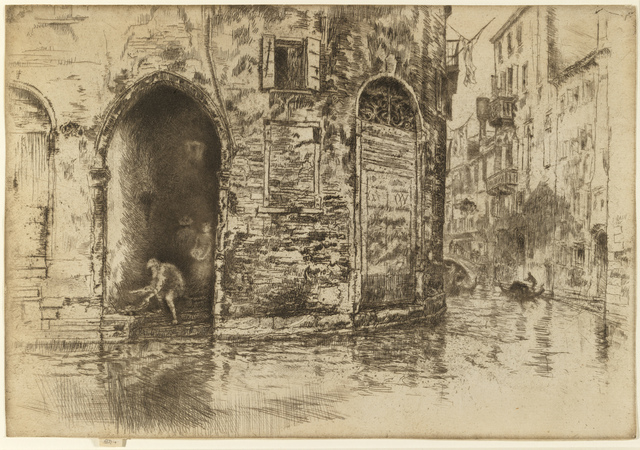 , 'The Two Doorways,' 1879-1880, The Fine Art Society
