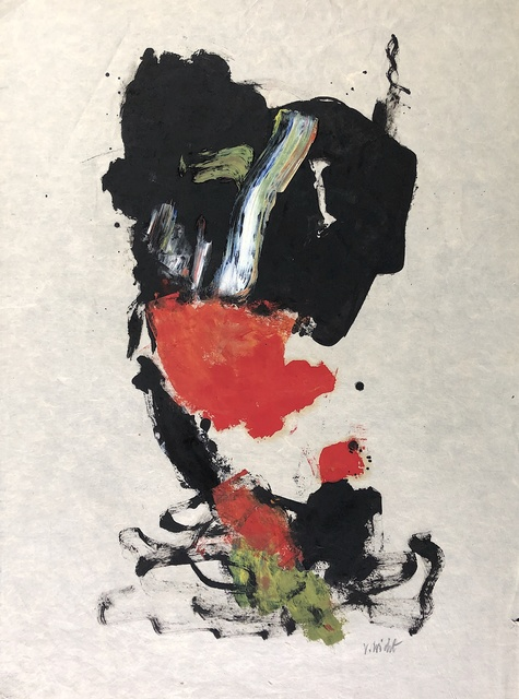 John Von Wicht, 'Untitled (VoJo035)', ca. 1960, Drawing, Collage or other Work on Paper, Mixed media on paper, Caldwell Gallery Hudson