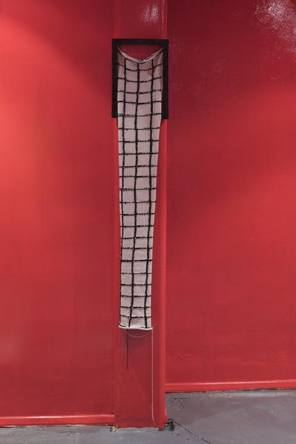 , 'Black Silk Yarn,' 2015, LAMB Arts