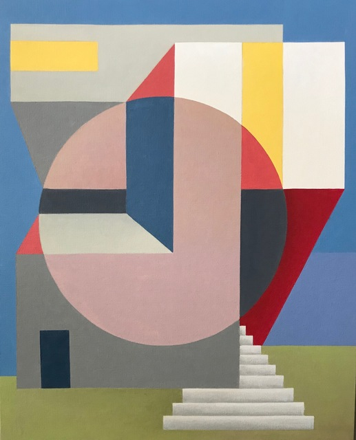 Andrey Kozakov, 'Untitled', 2019, Painting, Oil on canvas, Cincinnati Art Underground