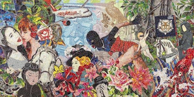 , 'Overlap No.28,' 2015, ART LEXÏNG