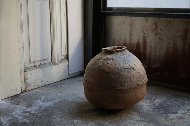 Shiro Tsujimura, 'Large round jar natural ash glaze', Kami ya Co., Ltd.