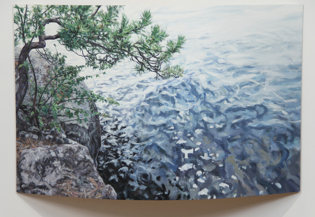 , 'Sudden Breeze: Temagami Shoreline,' 2017, Michael Gibson Gallery