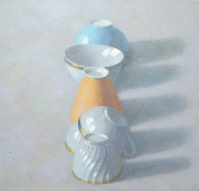 , 'Line of Cups,' 2014, Gallery Henoch