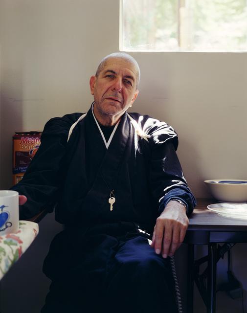 , 'Leonard Cohen, 1995,' 2018, GRIMM
